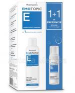 PHARMACERIS EMOTOPIC Emulsja do codziennej kąpieli - 400 ml + Fizjologiczny szampon nawilżający w piance - 50 ml - Apteka internetowa Melissa