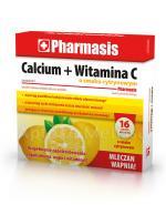 PHARMASIS Calcium + Witamina C o smaku cytrynowym - 16 tabl. musujących - Apteka internetowa Melissa