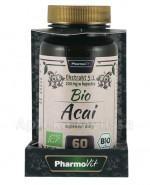 PHARMOVIT Bio acai 200 mg - 60 kaps.  Data ważności: 2018.08.30 - Apteka internetowa Melissa