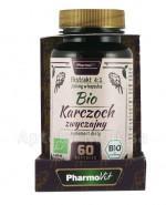 PHARMOVIT Bio karczoch zwyczajny 200 mg - 60 kaps.  Data ważności: 2018.12.31 - Apteka internetowa Melissa