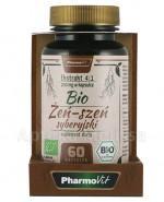 PHARMOVIT Bio żeń-szeń syberyjski 200 mg - 60 kaps.  - Apteka internetowa Melissa