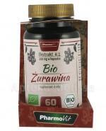 PHARMOVIT Bio żurawina 200 mg - 60 kaps.  - Apteka internetowa Melissa