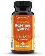 PHARMOVIT Różeniec górski 200 mg - 90 kaps.  - Apteka internetowa Melissa
