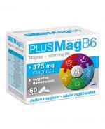 PLUSMAG B6 Magnez + witamina B6 - 60 tabl. - Apteka internetowa Melissa