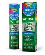 Plusssz Active  100% Energy Complex - 20 tabl. mus. Na znużenie - cena, opinie, właściwości