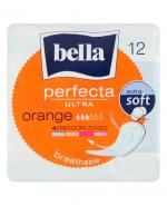 BELLA PERFECTA ULTRA ORANGE Podpaski - 12 szt. - Apteka internetowa Melissa