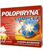 Polopiryna Complex - 12 sasz. Lek na objawy przeziębienia - cena, opinie, stosowanie
