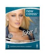NEW CARESS JOKER II Prezerwatywy - 3 szt. - Apteka internetowa Melissa