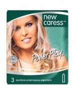 NEW CARESS POWER PLAY Prezerwatywy - 3 szt. - Apteka internetowa Melissa