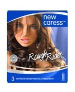 NEW CARESS ROUGH RIDER Prezerwatywy - 3 szt. - Apteka internetowa Melissa
