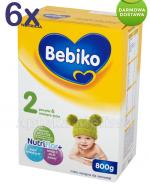BEBIKO 2 Mleko modyfikowane następne dla niemowląt - 6 x 800 g - Apteka internetowa Melissa