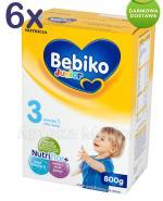 BEBIKO 3 JUNIOR Mleko modyfikowane następne dla niemowląt - 6 x 800 g - Apteka internetowa Melissa