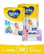 BEBIKO 3R JUNIOR Mleko modyfikowane następne dla niemowląt - 2 x 800 g + PREZENT Kubek niekapek - Apteka internetowa Melissa