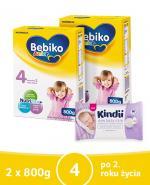 BEBIKO 4 JUNIOR Mleko modyfikowane następne dla niemowląt - 2x800 g + PREZENT Kubek niekapek - Apteka internetowa Melissa