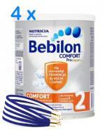 BEBILON 2 COMFORT Z PRONUTRA Mleko modyfikowane w proszku - 4 x 400 g + prezent bransoletka  - Apteka internetowa Melissa