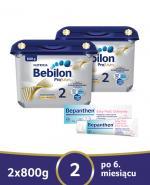 BEBILON 2 PROFUTURA Mleko modyfikowane w proszku - 2x800g + Bepanthen baby extra 30 g  - Apteka internetowa Melissa
