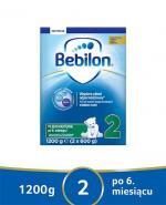 BEBILON 2 Z PRONUTRA+ Mleko modyfikowane w proszku - 1200 g + Prezent Waterwipes chusteczki 10szt  - Apteka internetowa Melissa
