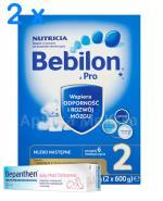 BEBILON 2 Z PRONUTRA+ Mleko modyfikowane w proszku - 2 x 1200 g+ Prezent Ręcznik - Apteka internetowa Melissa