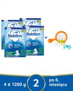 BEBILON 2 Z PRONUTRA+ Mleko modyfikowane w proszku - 4x1200 g + Książeczka edukacyjna CzuCzu - Apteka internetowa Melissa