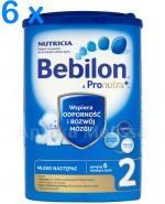 BEBILON 2 Z PRONUTRA+ Mleko modyfikowane w proszku - 6 x 800 g Data ważności: 2017.06.17 - Apteka internetowa Melissa
