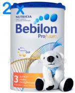 BEBILON 3 PROFUTURA Mleko modyfikowane w proszku - 2 x 800 g + CLEANIC KINDII NEW BABY CARE Chusteczki do delikatnej skóry noworodków i niemowląt - 60 szt. GRATIS !  - Apteka internetowa Melissa