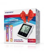 DIAGNOSTIC DM-600 IHB Ciśnieniomierz naramienny z zasilaczem sieciowym - 1 szt. + Suplementy diety w prezencie  - Apteka internetowa Melissa
