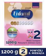 ENFAMIL 2 PREMIUM LIPIL 6-12 mcy Mleko modyfikowane - 1200 g + Bepanthen - 30 g - Apteka internetowa Melissa