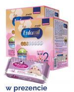 ENFAMIL 2 PREMIUM LIPIL 6-12 mcy Mleko modyfikowane - 2 x 1200 g + Prezent Chusteczki BubaLuba  - Apteka internetowa Melissa