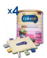 ENFAMIL 2 PREMIUM LIPIL 6-12 mcy Mleko modyfikowane - 4 x 800 g + Przytulanka GRATIS !  - Apteka internetowa Melissa
