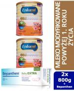 ENFAMIL 3 PREMIUM powyżej 1 roku Mleko modyfikowane - 2 x 800 g + Bepanthen - 30 g  - Apteka internetowa Melissa