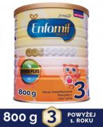 ENFAMIL 3 PREMIUM powyżej 1 roku Mleko modyfikowane - 800 g + Prezent Bepanthen baby maść - 30 g  - Apteka internetowa Melissa