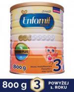ENFAMIL 3 PREMIUM powyżej 1 roku Mleko modyfikowane - 800 g + 9 saszetek GRATIS ! - Apteka internetowa Melissa