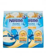 NESTLE Kaszka mleczno-ryżowa wanilia, po 4 miesiącu - 2 x 230 g + Nestle łyżeczka - Apteka internetowa Melissa