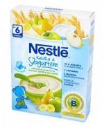 NESTLE Kaszka z jogurtem mleczno-pszenna banan jabłko gruszka po 6 m-cu - 250 g + BOBO FRUT Sok pomidor, winogrona i marchew po 6 m-cu - 300 ml GRATIS !  - Apteka internetowa Melissa