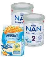 NESTLE NAN OPTIPRO PLUS 2 Mleko modyfikowane w proszku po 6 miesiącu - 2 x 800 g (puszka) + Skarpetki GRATIS ! - Apteka internetowa Melissa