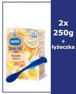 NESTLE SKARBY ZBÓŻ Kaszka pszenna wanilia po 6 m-cu - 2 x 250 g + Nestle łyżeczka - Apteka internetowa Melissa