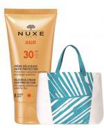 NUXE SUN Zachwycający krem do opalania twarzy i ciała SPF30 - 50 ml + Żel pod prysznic - 200 ml  - Apteka internetowa Melissa