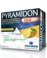 PYRAMIDON FAST przeciw przeziębieniu i grypie - 10 sasz.  - Apteka internetowa Melissa