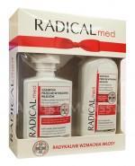 IDEEPHARM RADICAL MED ZESTAW Szampon przeciw wypadaniu włosów - 300 ml + Odżywka przeciw wypadaniu włosów - 200 ml - Apteka internetowa Melissa