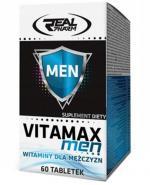 Real Pharm Vitamax Men witaminy dla mężczyzn - 60 tabl. - cena, opinie, wskazania