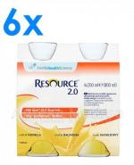 RESOURCE 2.0 Smak waniliowy - 24 x 200 ml - Apteka internetowa Melissa