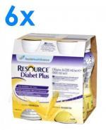 RESOURCE DIABET PLUS Smak waniliowy - 24 x 200 ml - Apteka internetowa Melissa