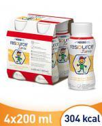 RESOURCE JUNIOR Smak waniliowy - 4 x 200 ml Preparat odżywczy - cena, opinie, stosowanie