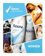 REXONA WOMEN Invisible Aqua antyperspirant w aerozolu - 150 ml + Freshness&Care żel pod prysznic - 250 ml  - Apteka internetowa Melissa