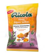 RICOLA ALPEJSKA SZAŁWIA Z MIODEM Szwajcarskie cukierki ziołowe - 75 g - Apteka internetowa Melissa