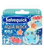 SALVEQUICK AQUA BLOCK KIDS Plastry dla dzieci - 12 szt. - Apteka internetowa Melissa
