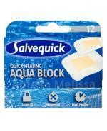 SALVEQUICK AQUA BLOCK Plastry szybko gojące się różne rozmiary - 12 szt. - Apteka internetowa Melissa