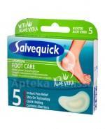 SALVEQUICK FOOT CARE ALOE VERA Plastry - 5 szt. - Apteka internetowa Melissa