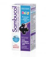 SAMBUCOL BABY Standaryzowany ekstrakt z owoców czarnego bzu - 12 sasz. Na odporność - cena, opinie, stosowanie