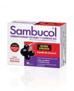 SAMBUCOL EXTRA STRONG - 30 kaps.Na odporność - cena, opinie, stosowanie